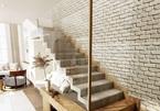 Cầu thang treo lơ lửng trong ngôi nhà mái vòm ở Đồng Nai