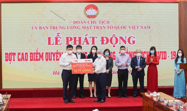 TNG Holdings Vietnam và MSB góp gần 50 tỷ đồng vào Quỹ vắc xin phòng chống Covid-19