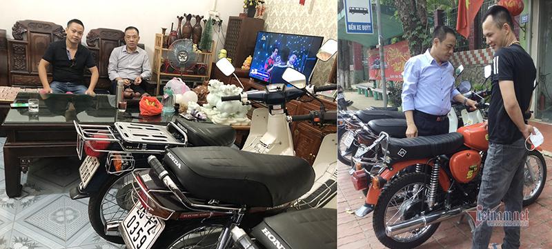 Đôi vợ chồng Sơn La mê xe máy cổ, khách trả 150 triệu không bán