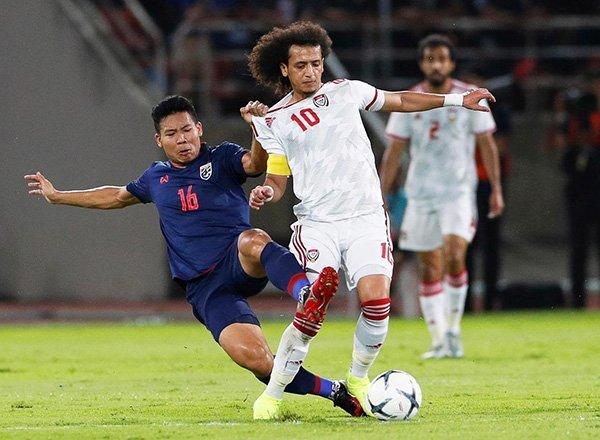 Link xem UAE vs Thái Lan, 23h45 ngày 7/6