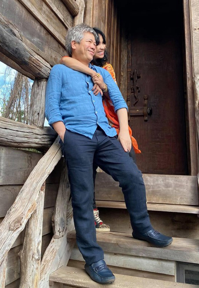 Khoảnh khắc bình yên của Thanh Lam bên bạn trai bác sĩ