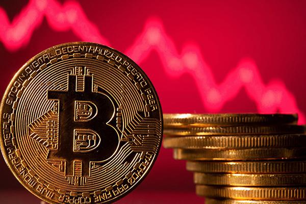 """Thị trường """"nhuộm đỏ"""" đầu tuần, Bitcoin giảm sâu hơn 3.000 USD"""