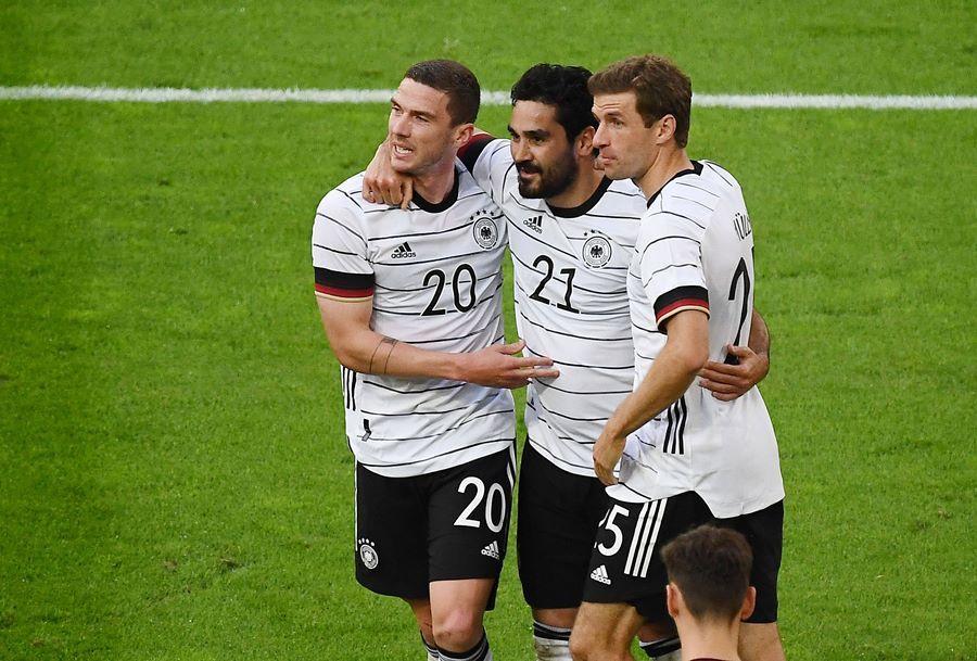 Đức thắng 7-1 trận tổng duyệt cho EURO 2020