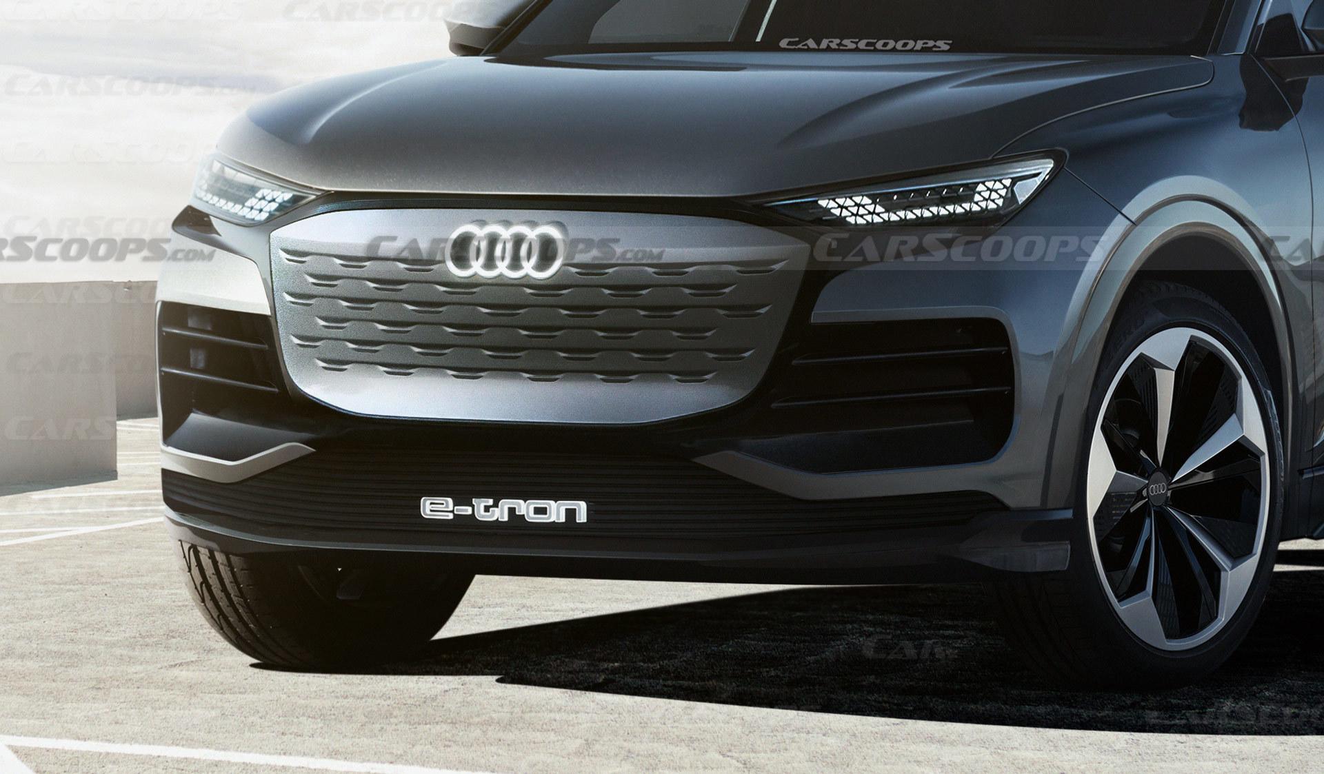 Giải mã mẫu xe Audi Q6 E-Tron 2023 sắp ra mắt