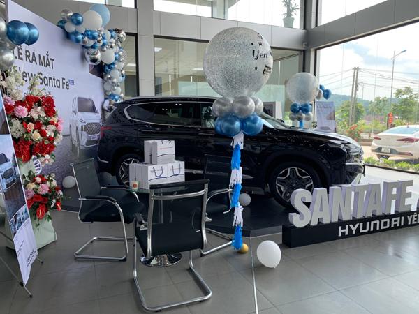 New SantaFe 2021 đã có tại showroom Hyundai Yên Bái