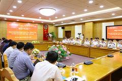 Bộ Tư lệnh Cảnh sát biển và Ủy ban Biên giới quốc gia trao đổi về công tác thông tin, tuyên truyền biển đảo