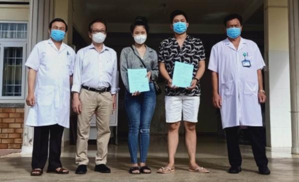 Hai bệnh nhân Covid-19 ở Đắk Lắk xuất viện