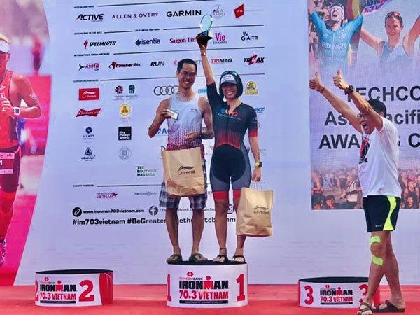 Pham Thuy Vi,triathlon,Vietnamese athletes,vietnam sports