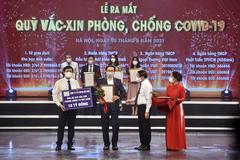 Toyota Việt Nam ủng hộ 10 tỷ đồng vào Quỹ vắc xin phòng Covid-19