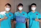 Tuyển Việt Nam có hành động đẹp sau trận thắng Indonesia