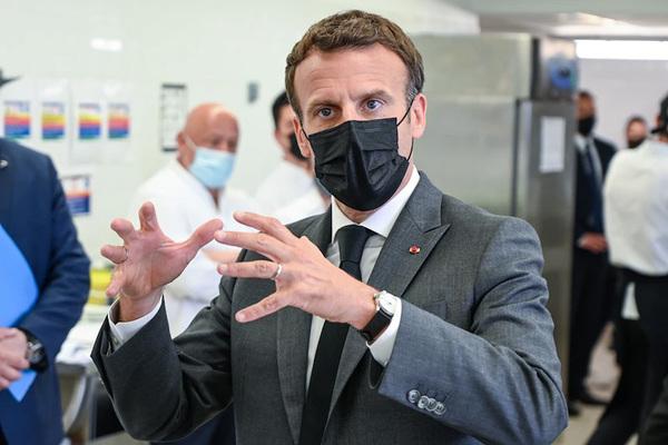 Tổng thống Pháp bị tát khi đi dạo