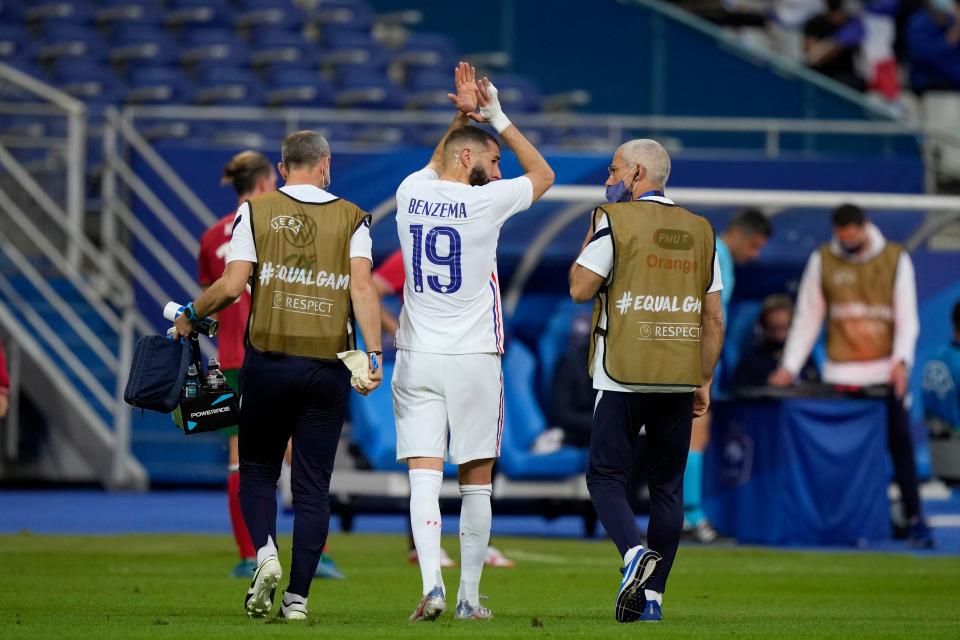 Tuyển Pháp hoảng loạn với chấn thương của Benzema