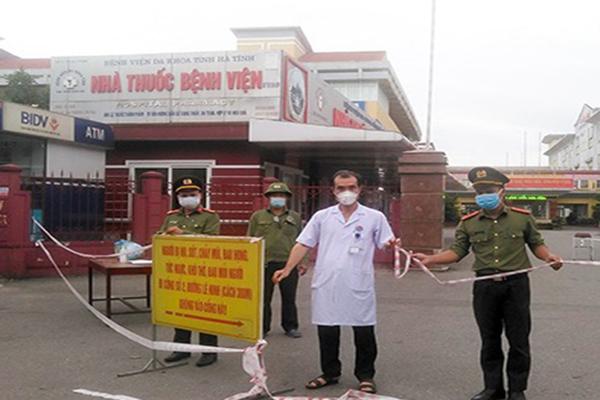 Dỡ bỏ phong tỏa Bệnh viện tỉnh Hà Tĩnh từ sáng nay