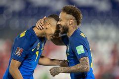 Video bóng đá Paraguay 0-2 Brazil