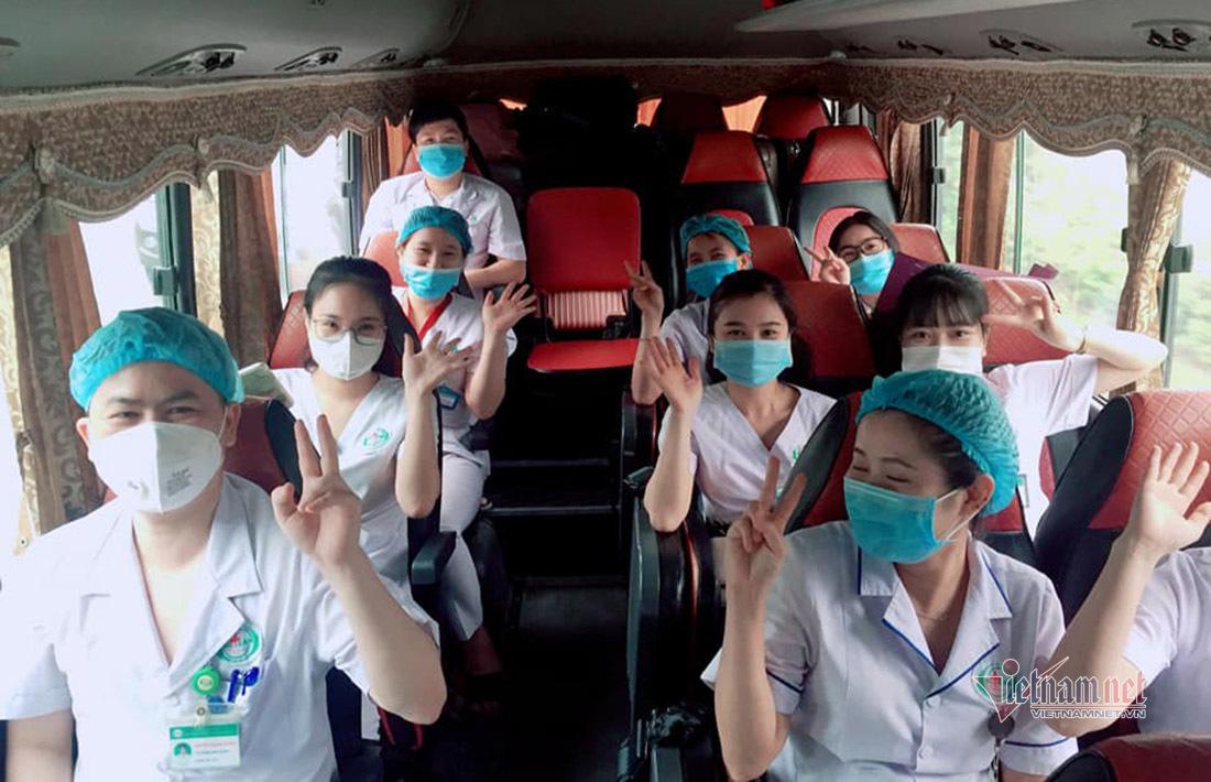 Nghệ An 'xuất quân' hỗ trợ Hà Tĩnh chống dịch Covid-19