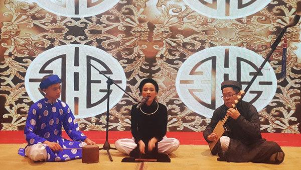 Hanoi preserves and promotes Ca Tru arts, towards lasting vitality
