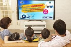 SCTV miễn phí nâng cấp lên gói DVB-T2 200 kênh truyền hình