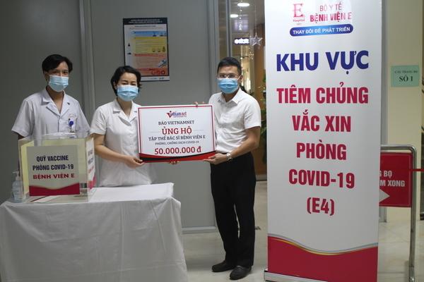 Báo VietNamNet tri ân các y, bác sĩ Bệnh viện E