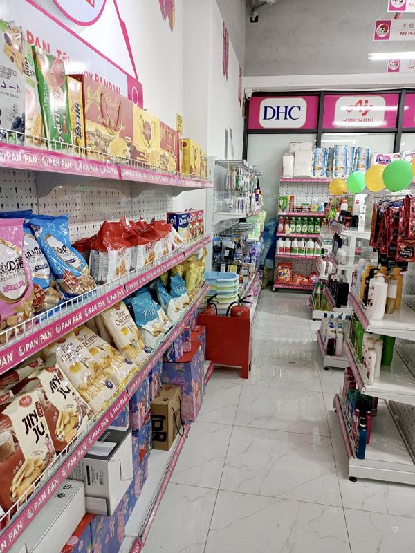 Panpan - chuỗi cửa hàng tiện lợi nhượng quyền đầy ắp hàng Nhật nội địa