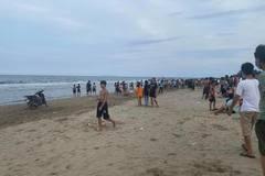 Hai em nhỏ ở Thanh Hóa chết đuối khi tắm biển