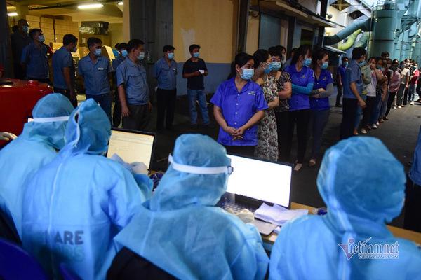 Thêm 24 công nhân Công ty thực phẩm Trung Sơn dương tính nCoV