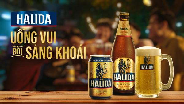 'Bia Voi' Halida, bạn đồng hành lý tưởng của đàn ông Việt