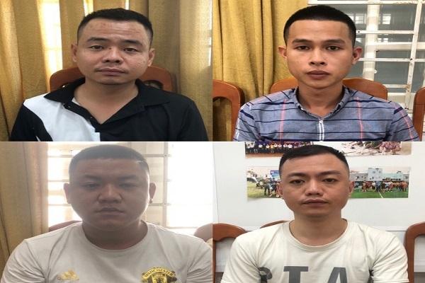 Bắt giữ 14 người từ Hà Nội vào Đà Nẵng cho vay lãi 'cắt cổ'