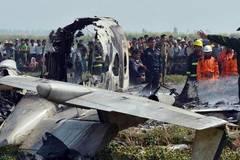 Rơi máy bay quân sự ở Myanmar, ít nhất 12 người thiệt mạng