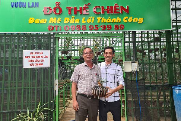 Bí quyết trồng lan rừng của ông chủ vườn 2.000 chậu ở Bình Phước