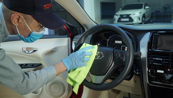 Hệ thống đại lý Toyota chung tay ủng hộ Quỹ vắc xin phòng Covid-19