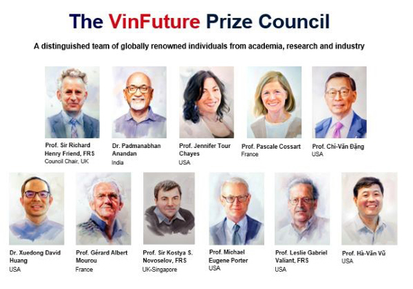 Vietnam's first-ever global sci-tech prize
