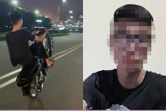 Xử phạt nam thanh niên bốc đầu xe máy, khoe clip trên Tiktok