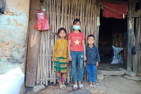 Xót thương 4 chị em côi cút sau tai nạn thương tâm của cha mẹ