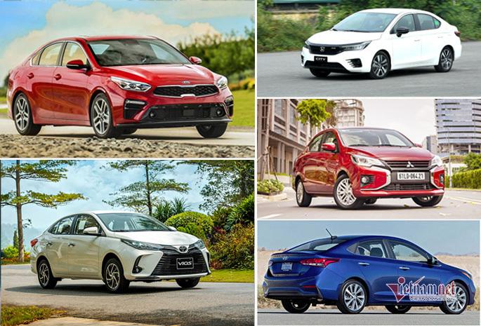 Xe sedan bán chạy tháng 5: Cuộc 'lật đổ' của Toyota Vios