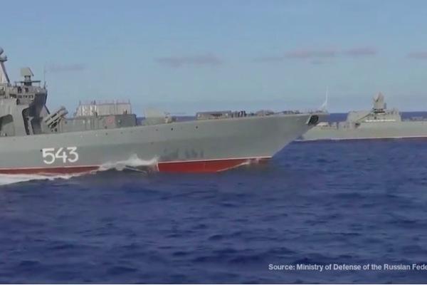 Hải quân Nga tập trận lớn trên Thái Bình Dương