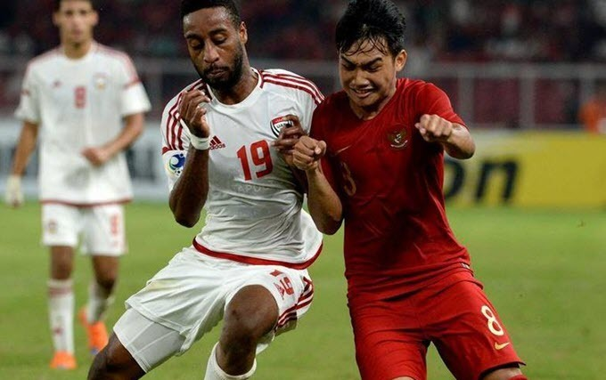 Link xem UAE vs Indonesia, 23h45 ngày 11/6