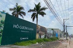 Xây không phép, dự án Hồ Gươm Xanh Thuận An City ở Bình Dương bị xử phạt