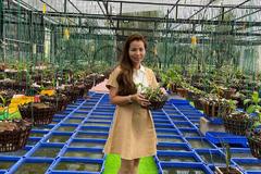 Người phụ nữ nức tiếng Đồng Tháp với vườn hoa 'vương giả'