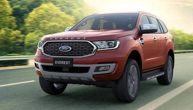 Xe đa dụng tháng 5: Hyundai SantaFe 'lên đỉnh', Ford Everest lọt top 5