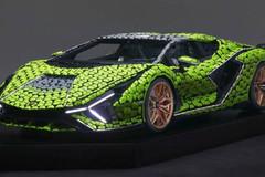 Cận cảnh siêu xe Lamborghini Sian mô hình làm từ 400 nghìn mảnh ghép Lego