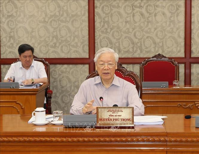 Tổng Bí thư: Toàn hệ thống chính trị tập trung cao nhất cho phòng, chống dịch Covid-19