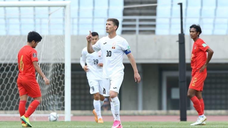 Thảm bại 1-8, Myanmar hết cửa đi tiếp ở vòng loại World Cup