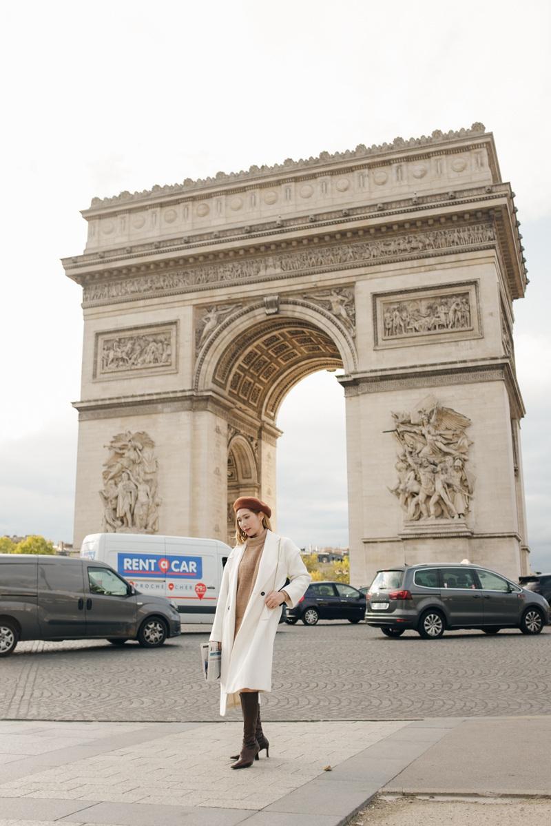Dương Quỳnh Lisa đẹp nhẹ nhàng giữa phố Paris