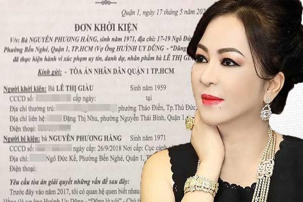 Giằng co vụ đại gia kiện đòi bà Phương Hằng 'bồi thường danh dự' 1.000 tỷ đồng