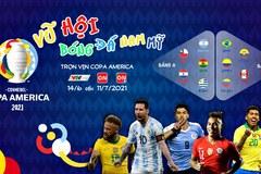 Lịch thi đấu Copa America 2021 hôm nay mới nhất