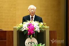 Toàn văn phát biểu của Tổng Bí thư Nguyễn Phú Trọng tại hội nghị sơ kết Chỉ thị 05