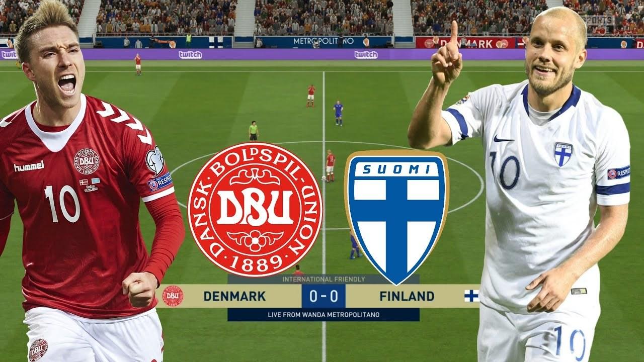 Link xem trực tiếp Đan Mạch vs Phần Lan, 23h ngày 12/6