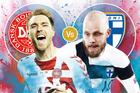Trực tiếp Đan Mạch vs Phần Lan: Chủ nhà giương oai