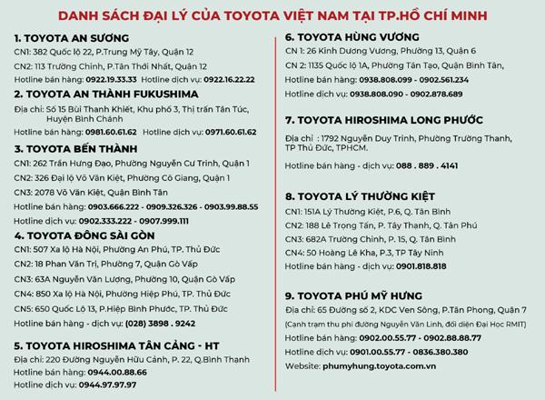 Ưu đãi phí trước bạ, lăn bánh Toyota Vios còn bao nhiêu?