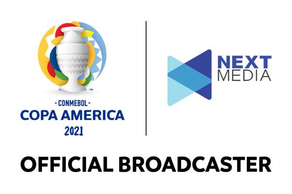 Next Media hợp tác cùng VTVCab, HTV phát sóng trọn vẹn COPA America 2021
